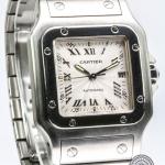 Cartier santos mid-size 2319 image 3