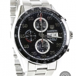 Tag heuer carrera calibre 16 chronograph cv2a10 image 3