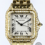 Cartier panthere 18ct gold image 2