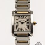 Cartier tank francaise 2384 image 2