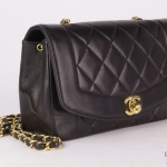 Chanel quilted leather mademoiselle flap 22 shoulder bag image 3