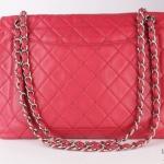 Chanel leather maxi jumbo shoulder bag image 2
