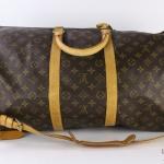 Louis vuitton monogram keepall bandouliere 55 travel bag image 2