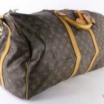 Louis vuitton monogram keepall bandouliere 55 travel bag image 3