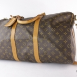 Louis vuitton monogram keepall bandouliere 50 travel bag image 3