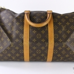 Louis vuitton monogram keepall 45 travel bag image 2