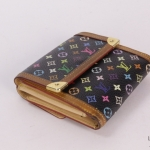 Louis vuitton multicolor monogram elise wallet image 2