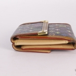 Louis vuitton multicolor monogram elise wallet image 3