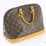 Louis vuitton monogram alma pm handbag image 3