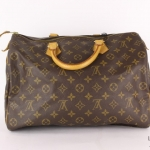 Louis vuitton monogram speedy 35 handbag image 2