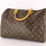 Louis vuitton monogram speedy 35 handbag image 3