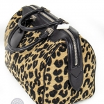 Louis vuitton leopard print stephen sprouse speedy handbag image 3