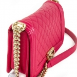 Chanel boy pink shoulder bag image 6