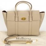 Mulberry bayswater grey bag image 5