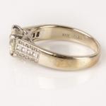 Diamond ring brilliant-cut diamond image 3