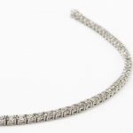 Diamond bracelet. brilliant-cut diamond line image 5