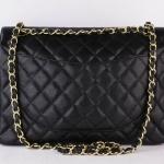 Chanel cavier maxi double flap shoulder bag image 2