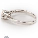 18ct gold diamond single-stone ring image 3