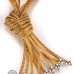 Knot necklace image 2