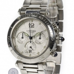 Cartier pasha 2113 chronograph image 2