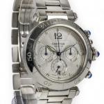 Cartier pasha 2113 chronograph image 3