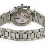 Cartier pasha 2113 chronograph image 5
