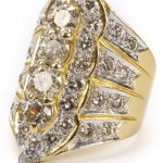 Fancy diamond ring image 2