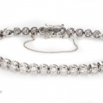 Diamond tennis bracelet image 2