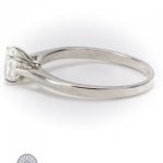Diamond single-stone ring image 3