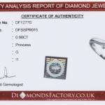 Diamond single-stone ring image 4