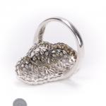 18ct gold diamond fancy ring image 4