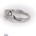 18ct gold diamond 'forever' ring. image 3